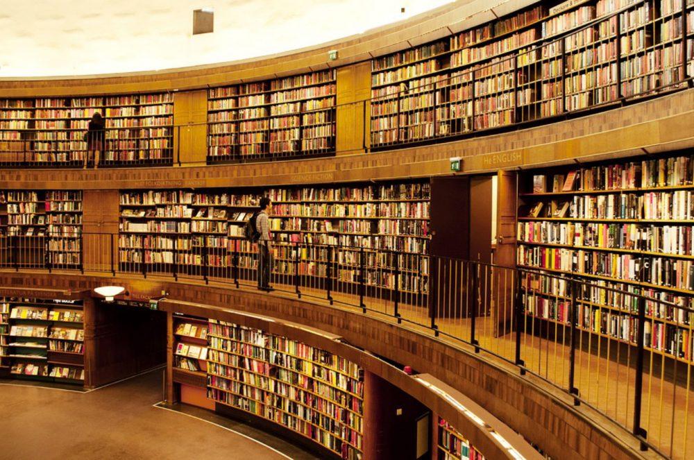 Шели Кинг за романтиката на книжарниците за стари книги