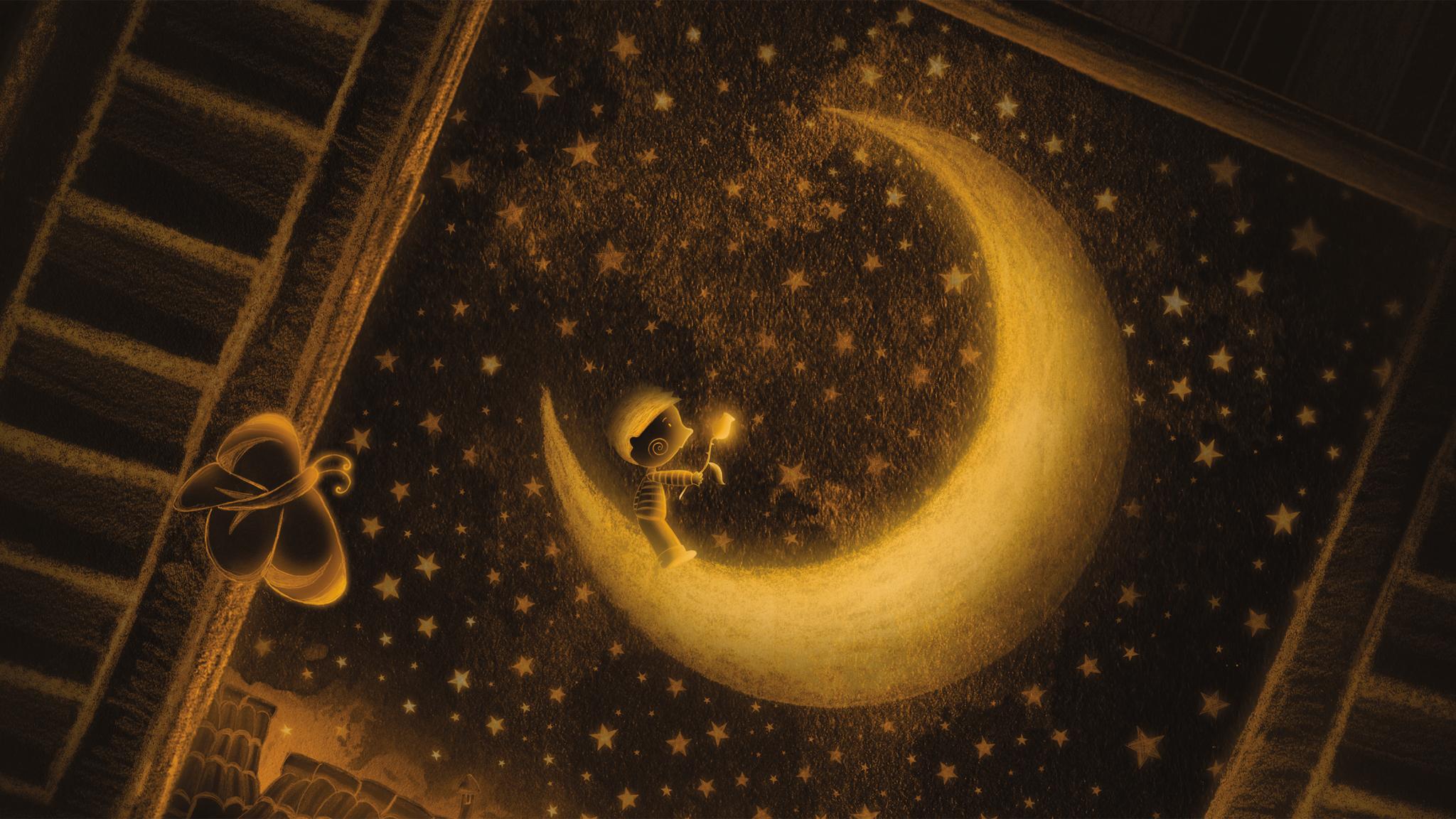 """Филмът """"Момчето, което обичаше Луната"""" с български субтитри"""